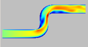 Refined simulation at t = 2.0 (velocity)
