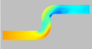 Refined simulation at t = 2.0 (pressure)